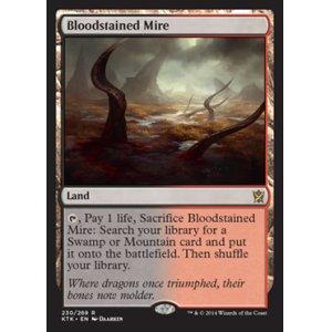 画像1: [英語版/日本語版]《血染めのぬかるみ/Bloodstained Mire》(KTK)