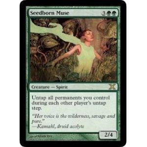 画像1: [英語版]《種子生まれの詩神/Seedborn Muse》(10E)