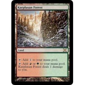 画像1: [英語版/日本語版]《カープルーザンの森/Karplusan Forest》(10E)