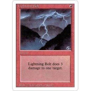 画像1: [英語版]《稲妻/Lightning Bolt》(3ED)