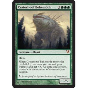 画像1: [日本語版]《孔蹄のビヒモス/Craterhoof Behemoth》(AVR)