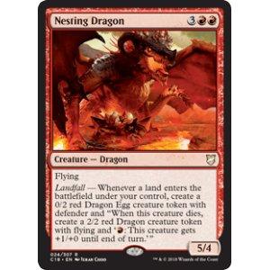 画像1: [英語版/日本語版]《巣ごもりドラゴン/Nesting Dragon》(C18)
