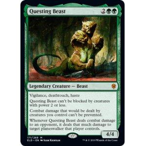 画像1: [英語版]《探索する獣/Questing Beast》(ELD)