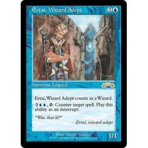 画像1: [英語版]《熟達の魔術師アーテイ/Ertai, Wizard Adept》(EXO)