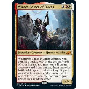 画像1: [英語版/日本語版]《軍団のまとめ役、ウィノータ/Winota, Joiner of Forces》(IKO)