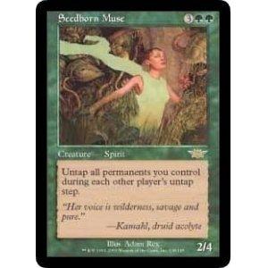 画像1: [英語版]《種子生まれの詩神/Seedborn Muse》(LGN)