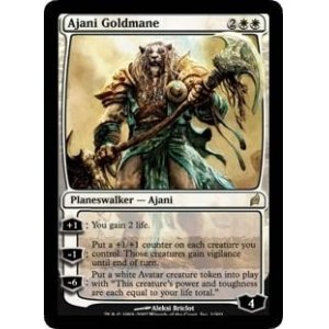 画像1: [英語版/日本語版]《黄金のたてがみのアジャニ/Ajani Goldmane》(LRW)