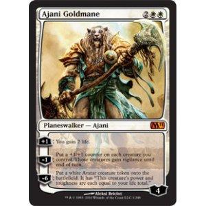 画像1: [英語版/日本語版]《黄金のたてがみのアジャニ/Ajani Goldmane》(M11)