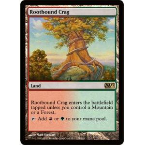 画像1: [英語版/日本語版]《根縛りの岩山/Rootbound Crag》(M13)