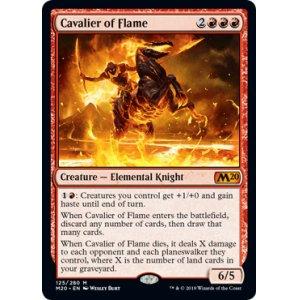 画像1: [英語版]《炎の騎兵/Cavalier of Flame》(M20)