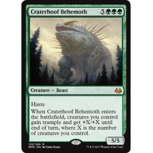 画像1: [日本語版]《孔蹄のビヒモス/Craterhoof Behemoth》(MM3)