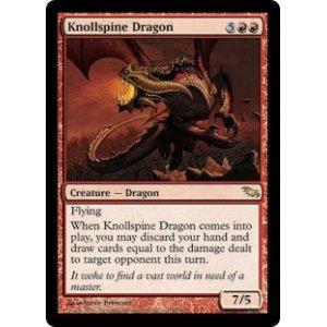 画像1: [英語版/日本語版]《山背骨のドラゴン/Knollspine Dragon》(SHM)